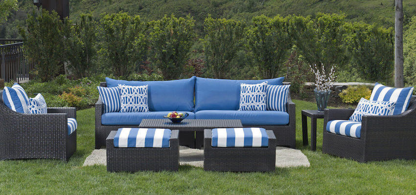 Outdoor furniture makes and backyard instantly more comfortable