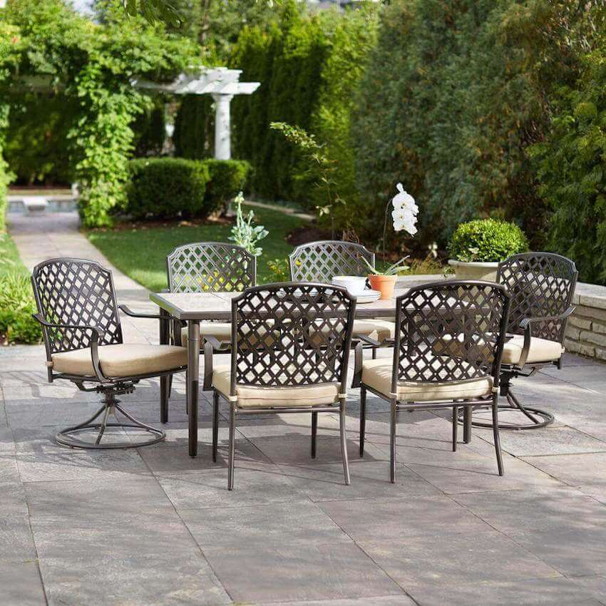 Patio furniture that matches for home