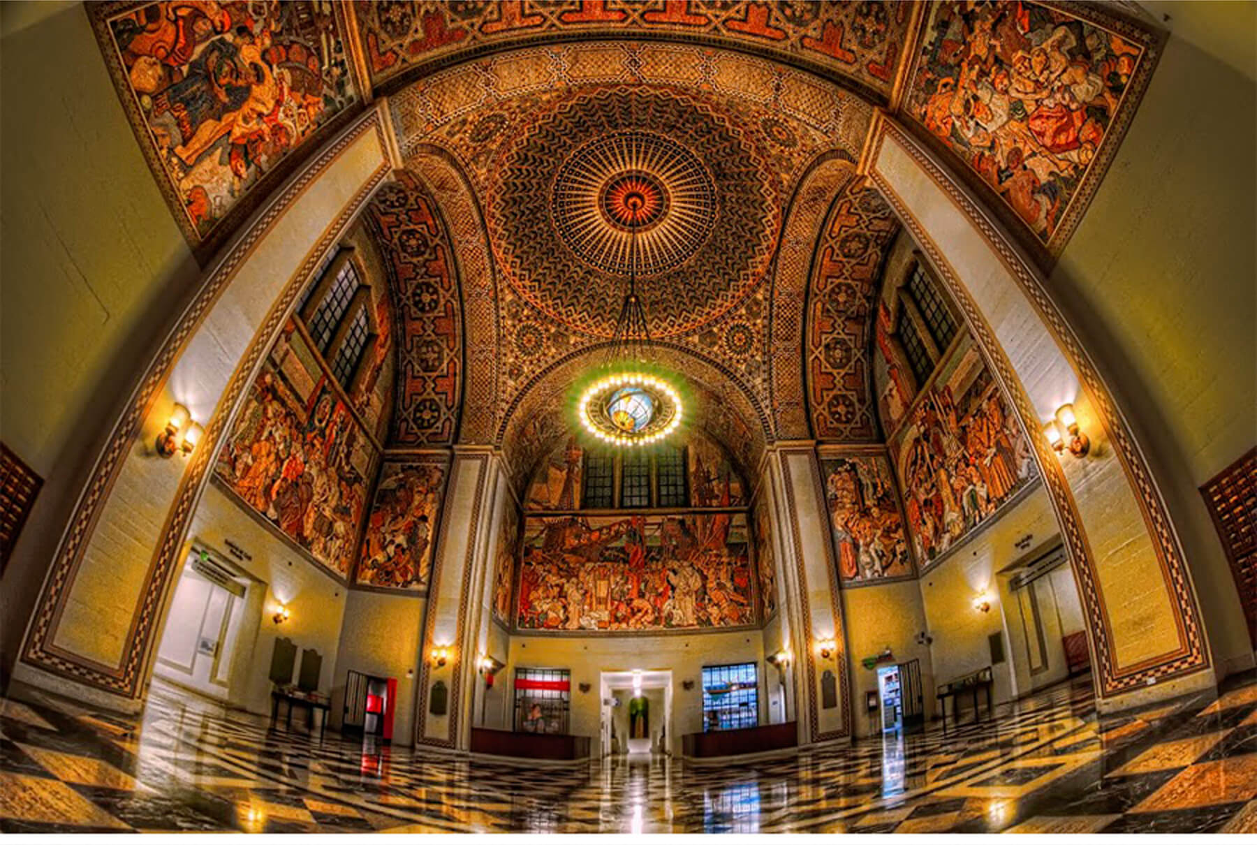Los Angeles Central Library, Los Angeles, CA