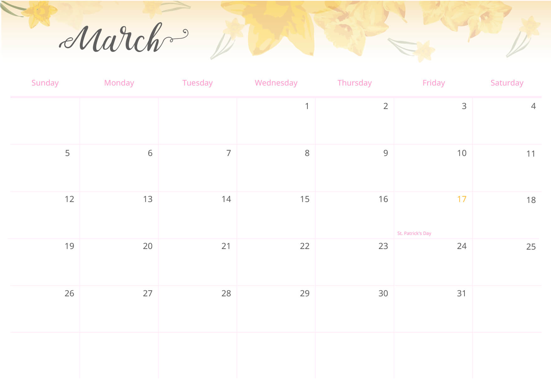 With a visual set-up, it's much easier to remember important dates.