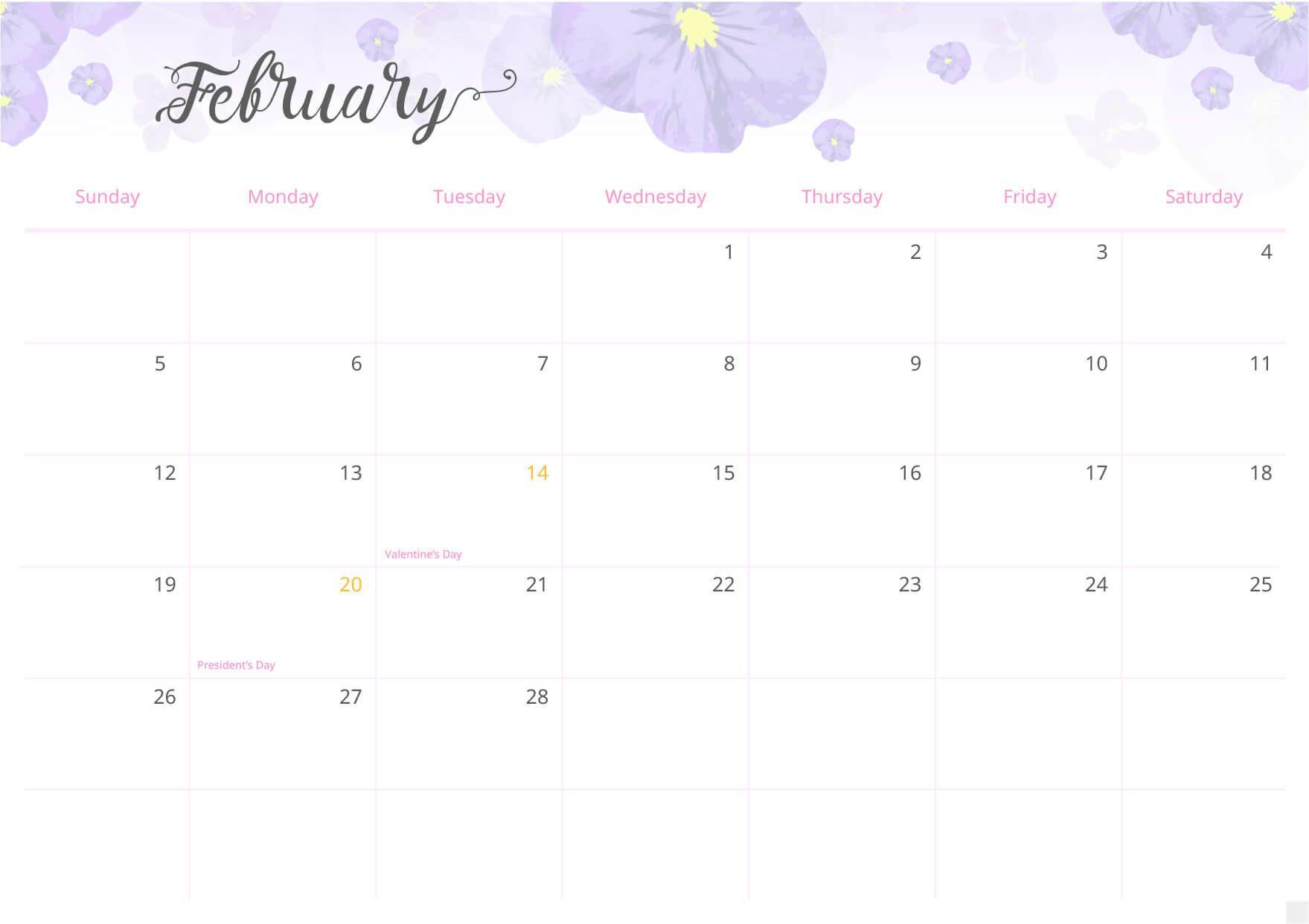 Use the calendar to mark upcoming events, meetings and appointmens.