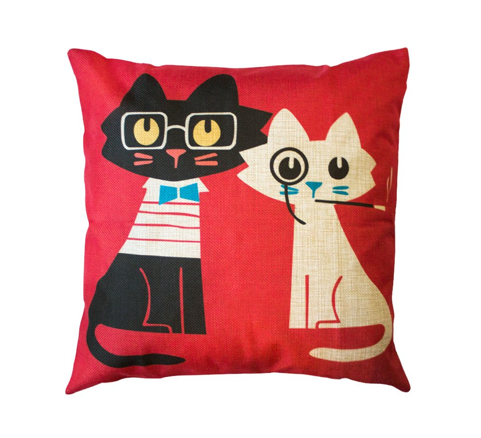 Classy cat pillows will show your love of cats and of course, keep it classy!