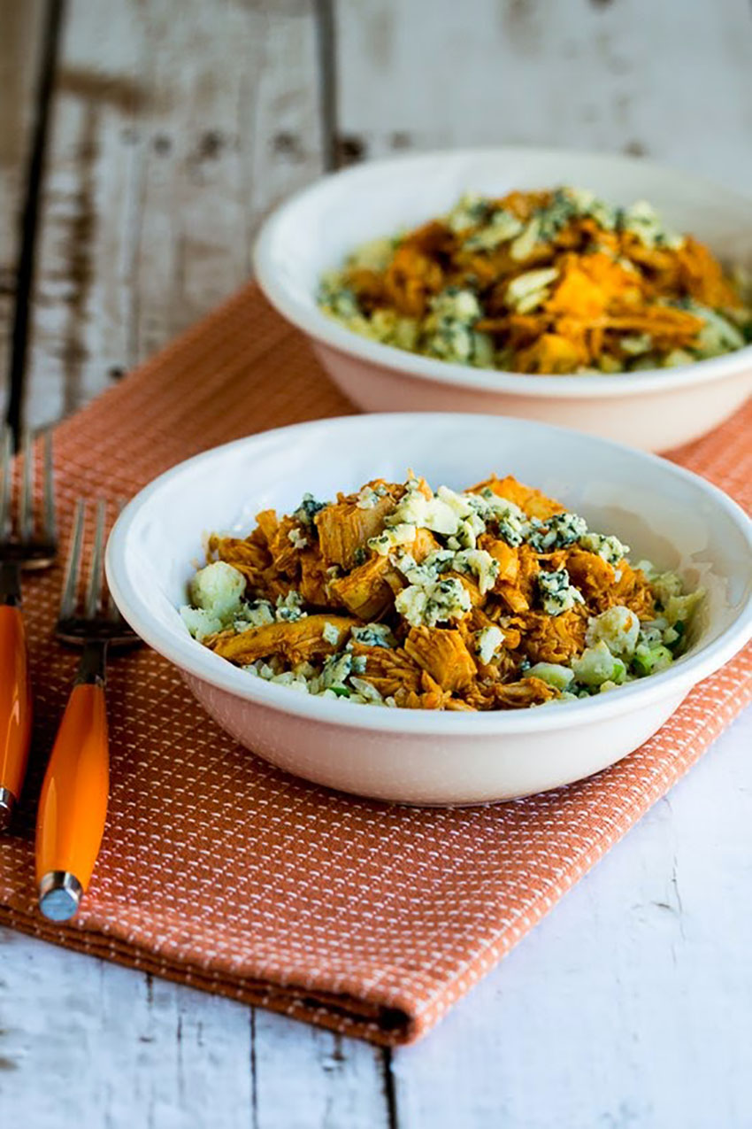 This slow-cooker recipe takes cauliflower rice to a whole new level.