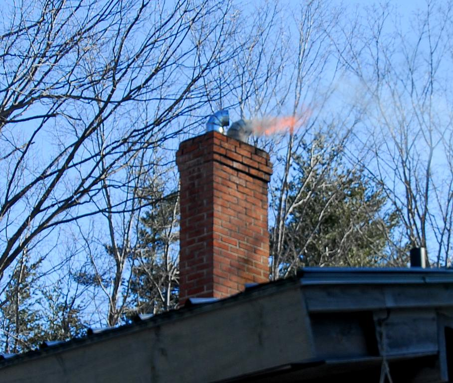 Along with being a fire hazard, unclean chimneys can release toxins and dangerous gas into the air.