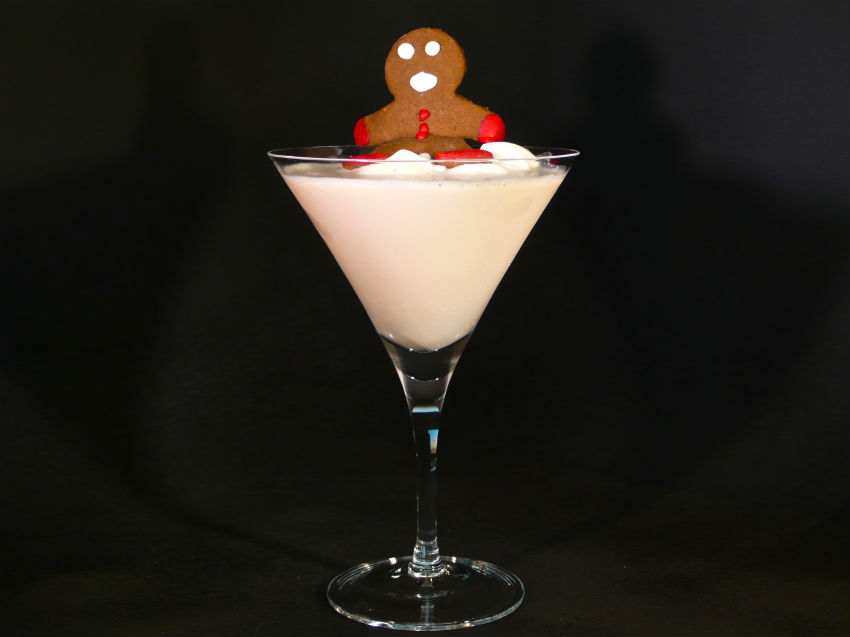 This Christmas Martini will become a favorite among your friends. Image Source: Cocktail Dudes