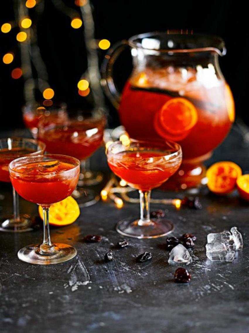 Jamie Oliver created this punch recipe especially for Christmas. Image Source: Jamie Oliver
