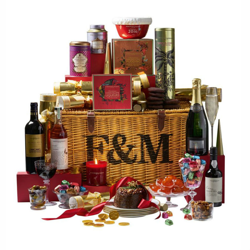 Make clear that you know about taste, go with a luxury basket. Image Source: GQ
