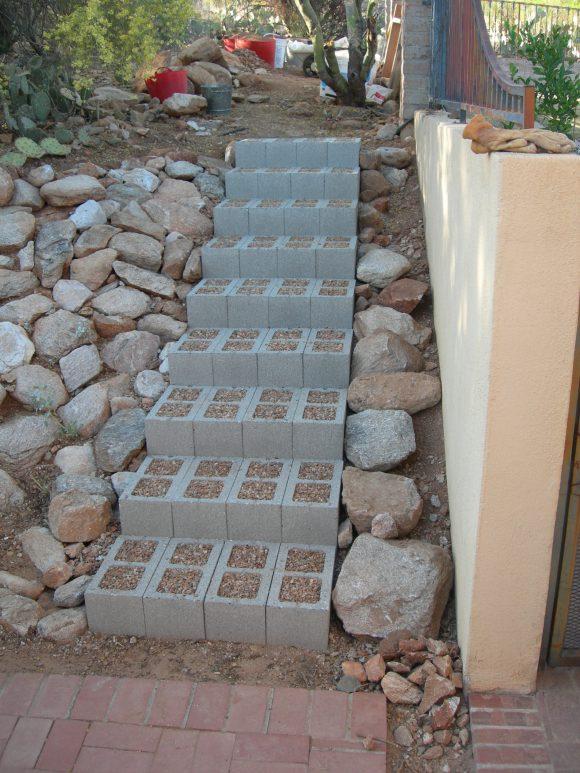 cinder-block-steps