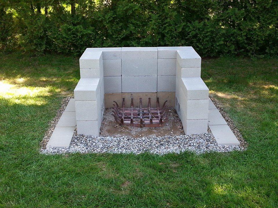 How to DIY: 12 Creative Garden Uses for Cinder Blocks ... on Diy Cinder Block Fireplace id=11745