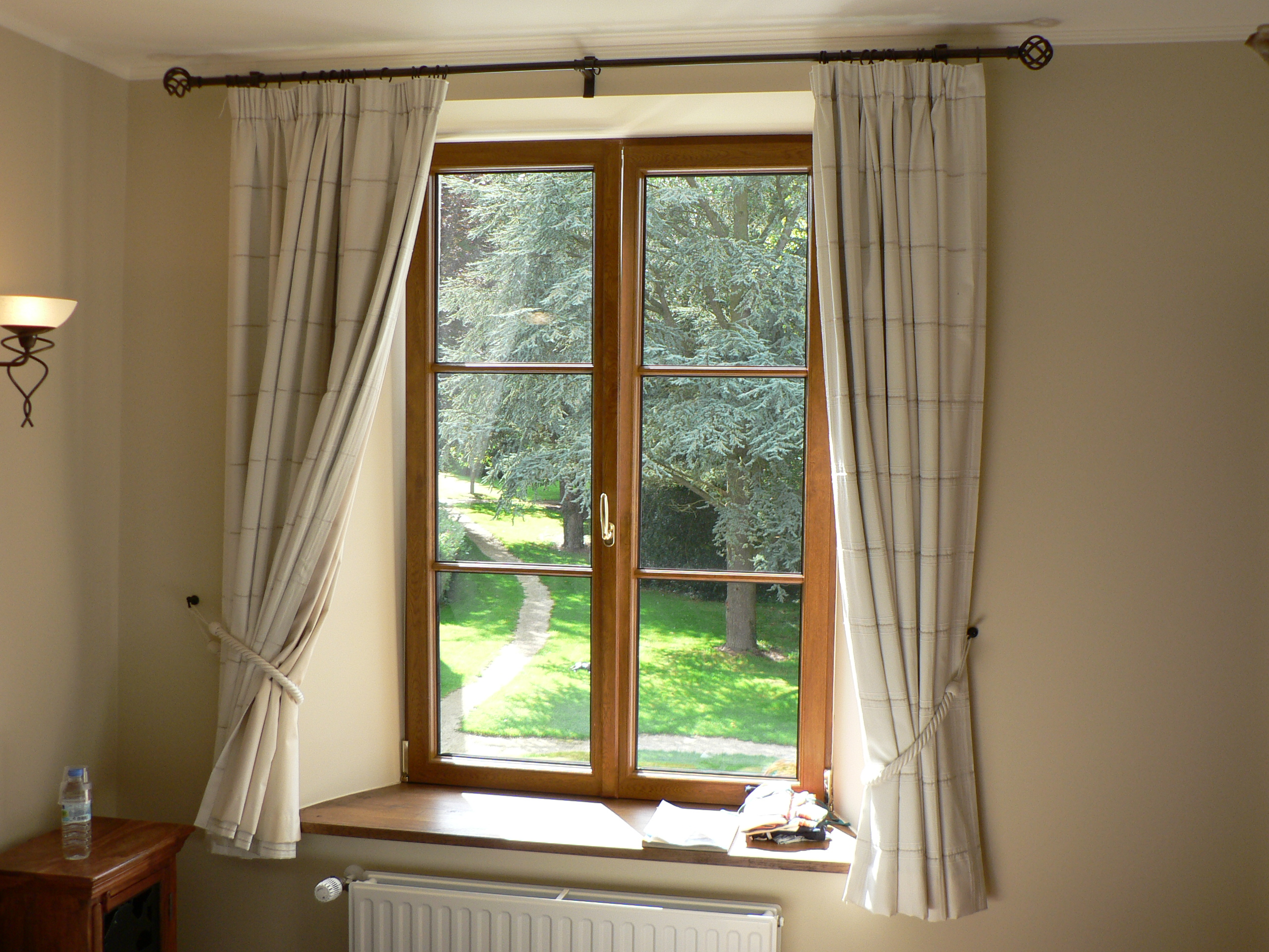 Open up your windows to clean the air in your home naturally.