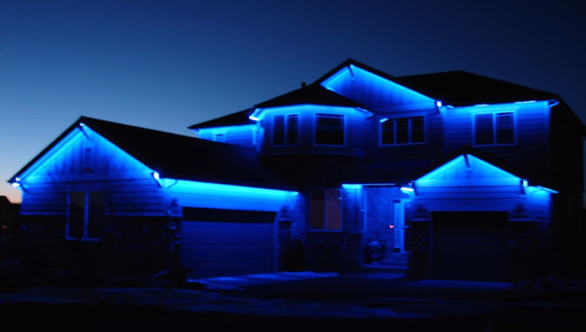 Exterior lighting for the whole neighborhood to see