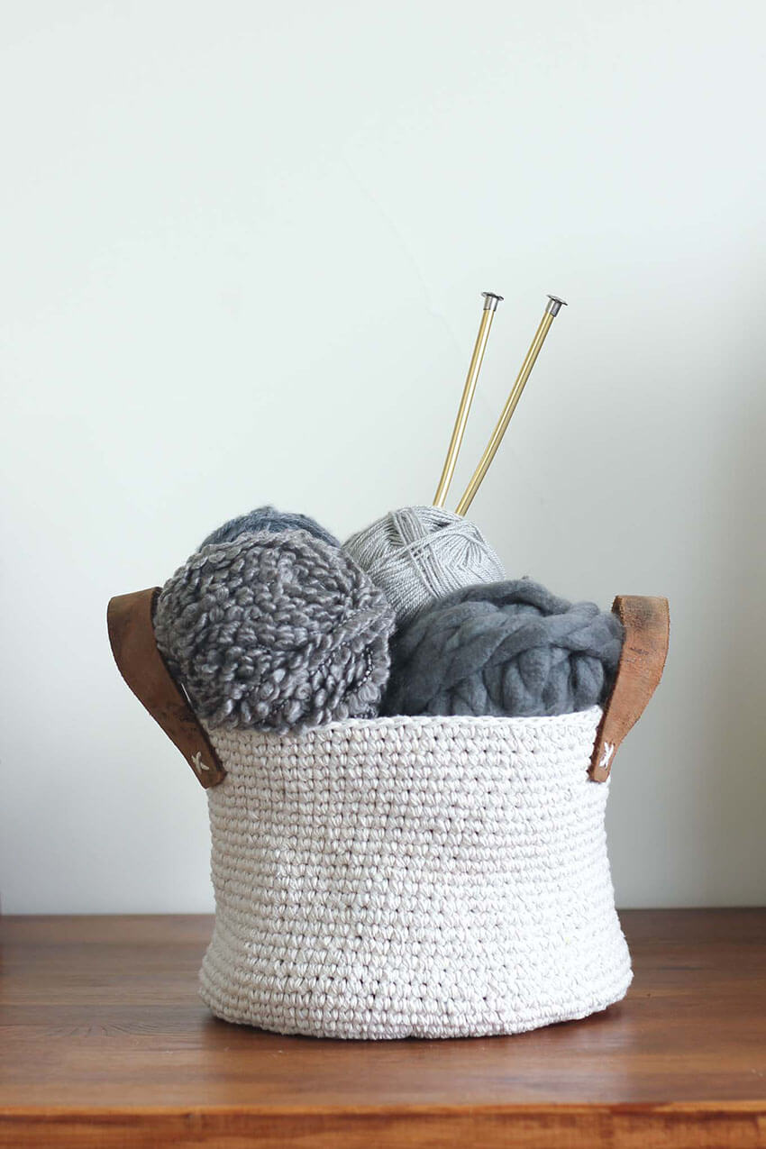 You can use the basket anywhere in the house!