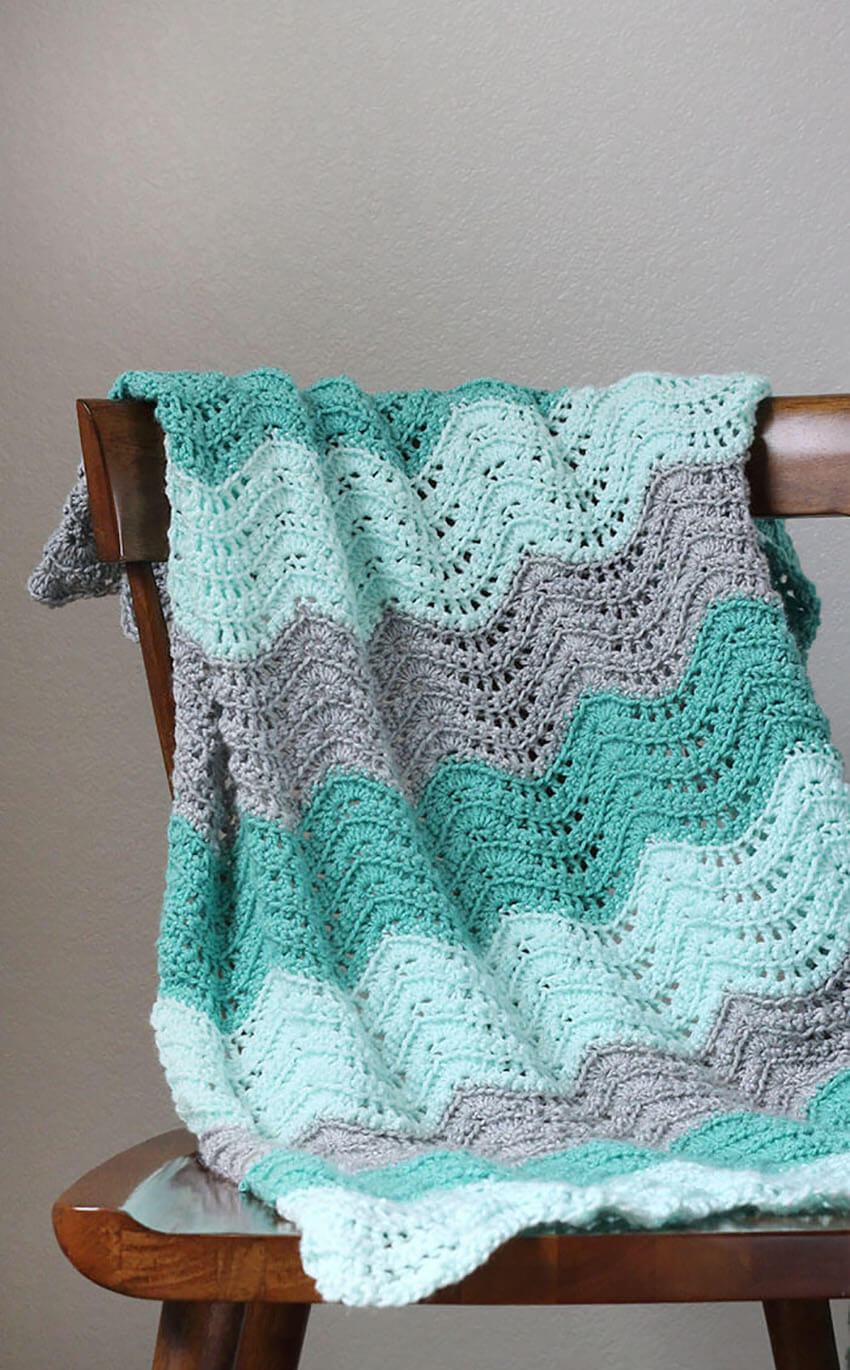 This baby blanket is so comfy you'll want it for yourself!