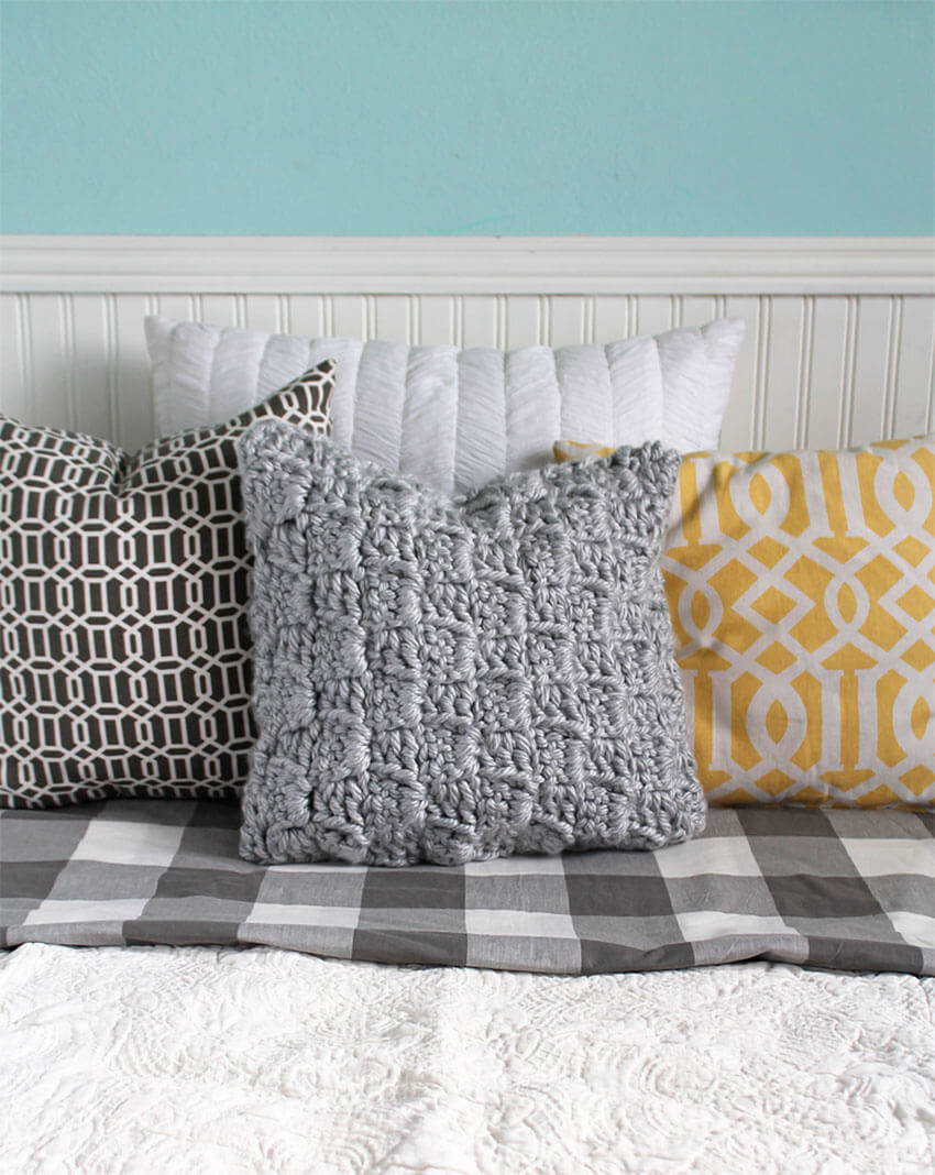 You'll love to squeeze this pillow to keep yourself warm!