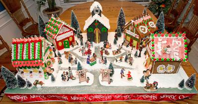 Gingerbread home: kitchen remodeling with a yummy treat