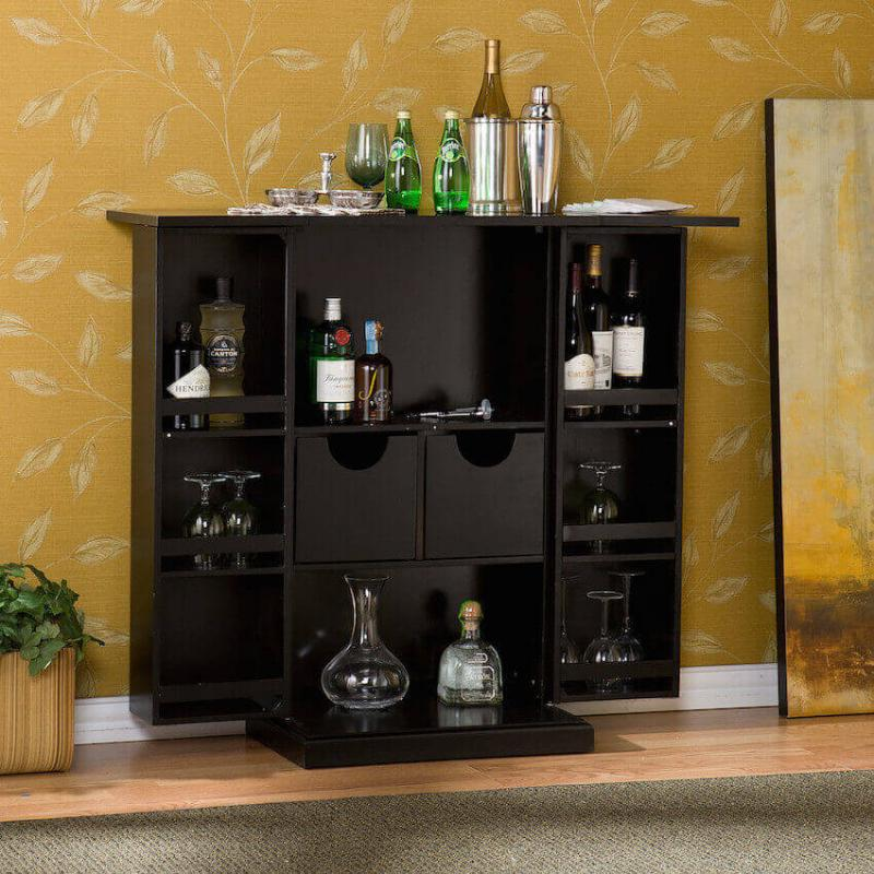 What every mom wants: a barcart for the kitchen
