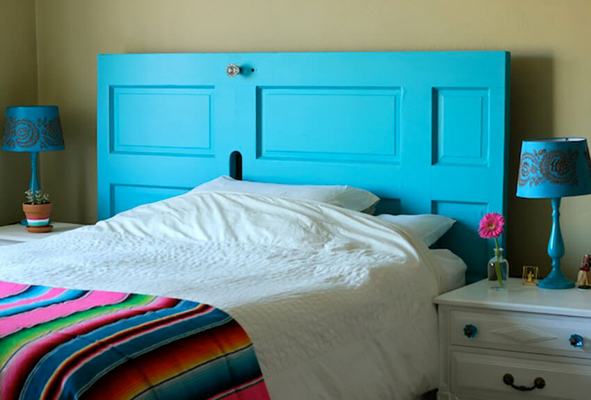 Bring style to the bedroom with this fun and creative DIY.