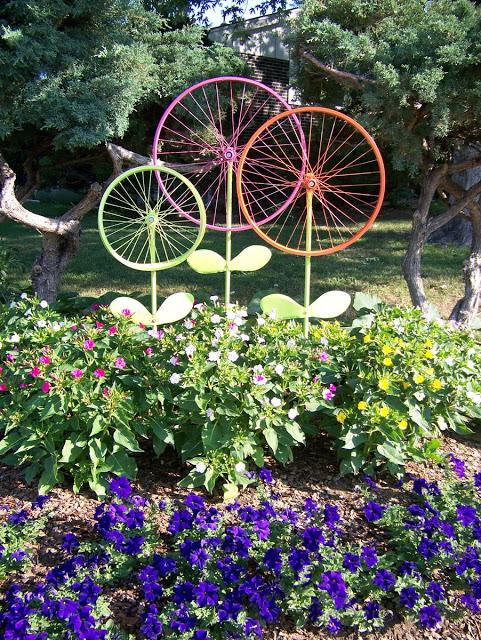 diy whimsical garden statues