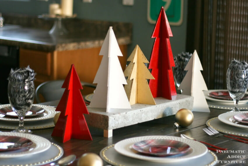 These mini trees are a great addition to your holiday decor!