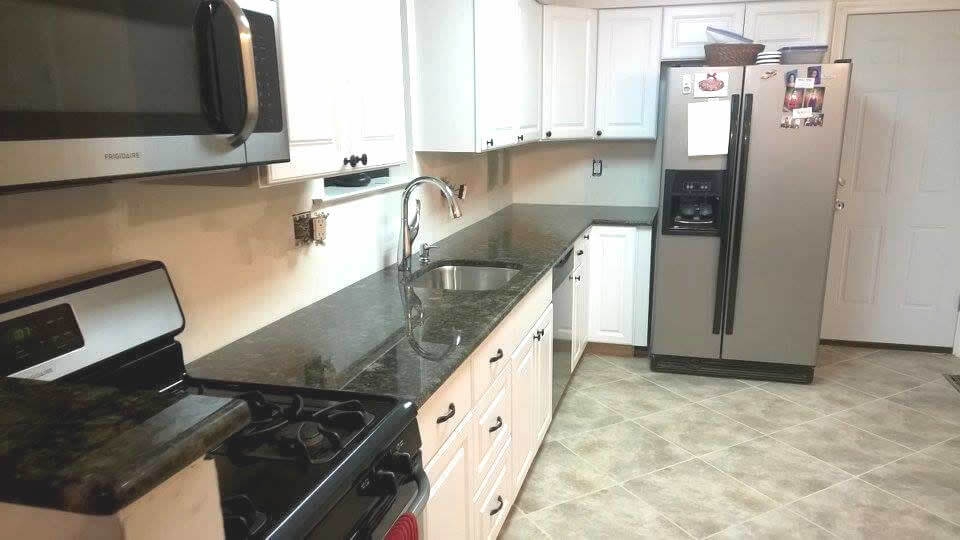 Nrand new countertops add so much to not just the kitchen, but to the home