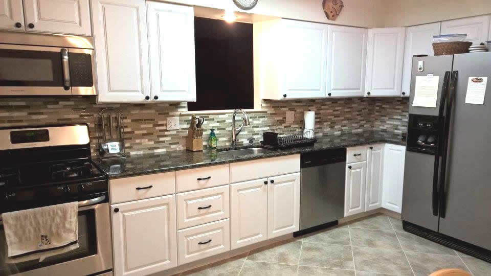 Kitchen remodeling at its finest. Look at that marvelous work.