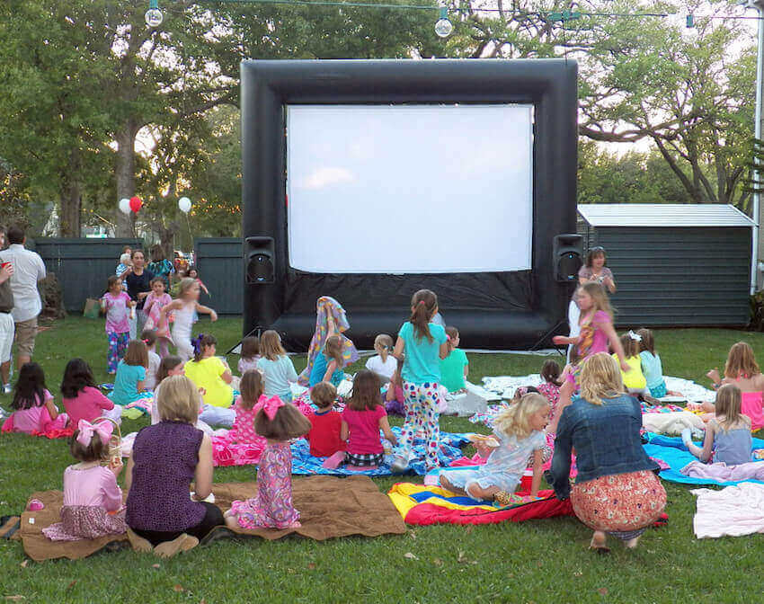 How To Make A Diy Outdoor Movie Theater Homeyou