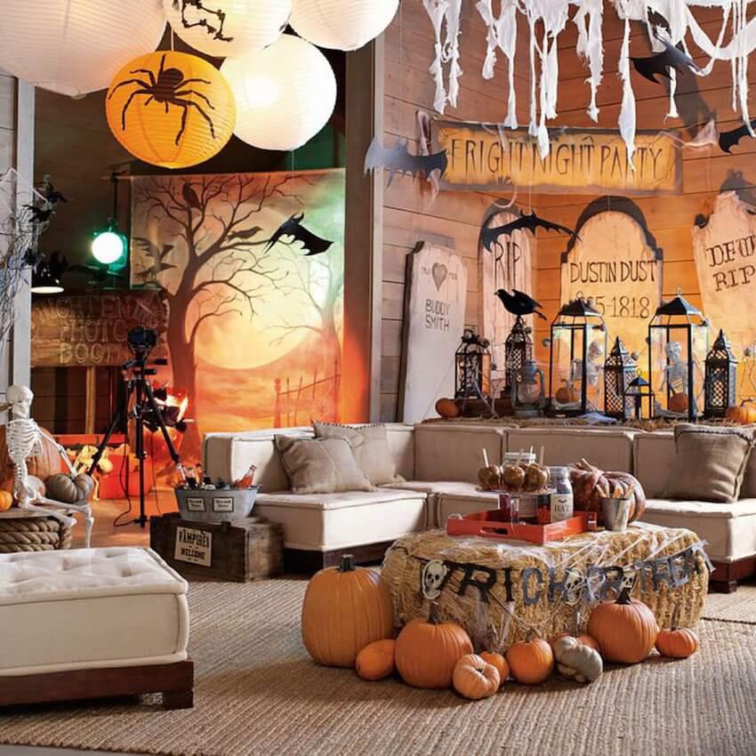 Interior decor for the Halloween season