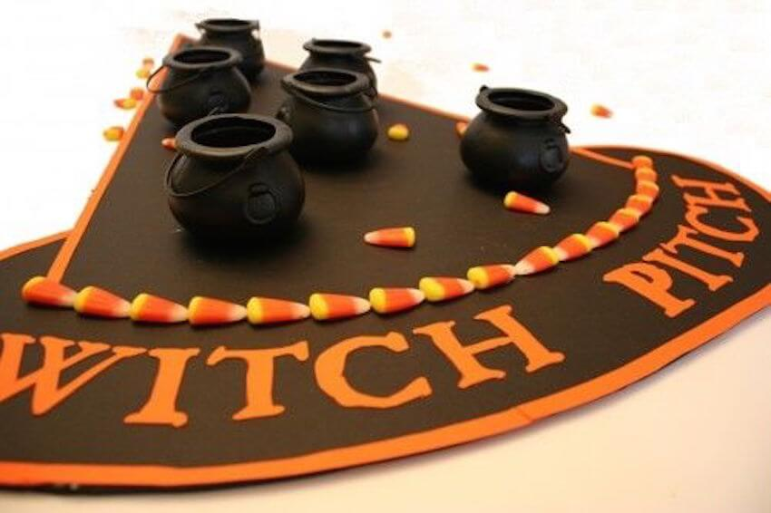 Play fun games this Halloween over your living room table