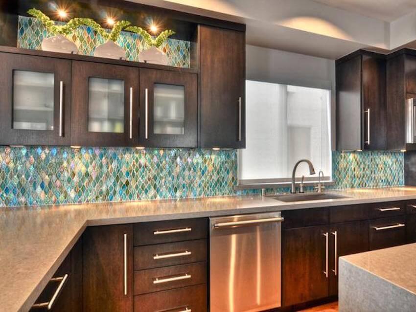 Beautiful DIY kitchen backsplash for your home