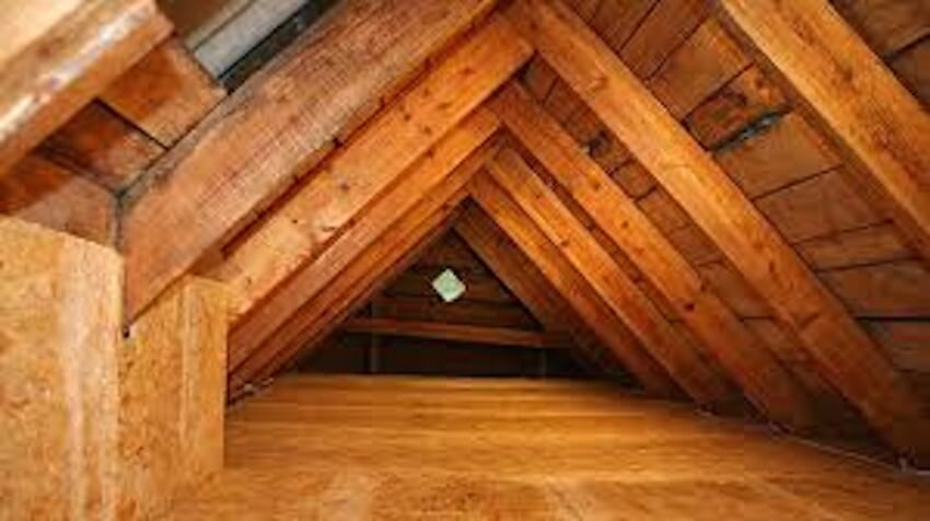 Attic insulation that works all year round