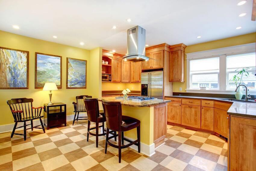 Kitchen and dining room options that are incredibly green