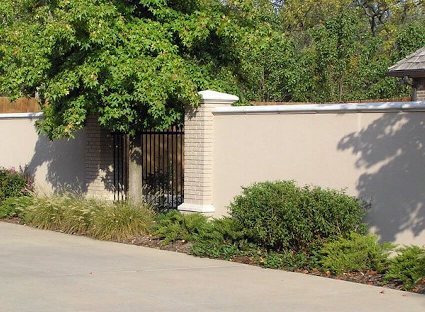 Secure concrete fencing that really makes a statement