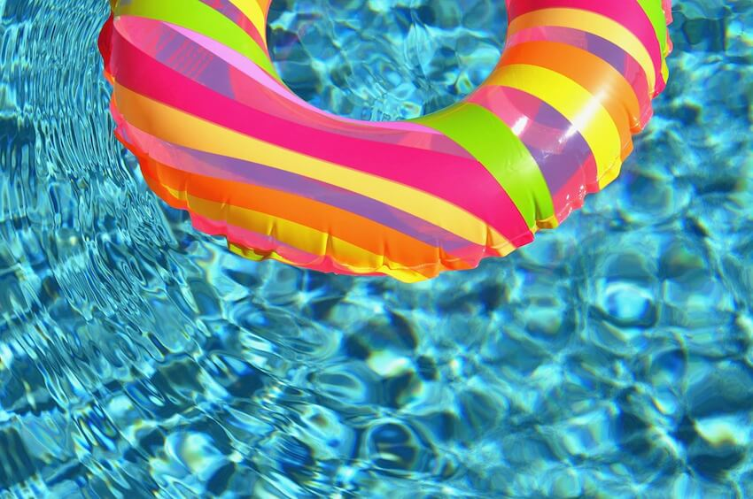 Swimming pool fun and care