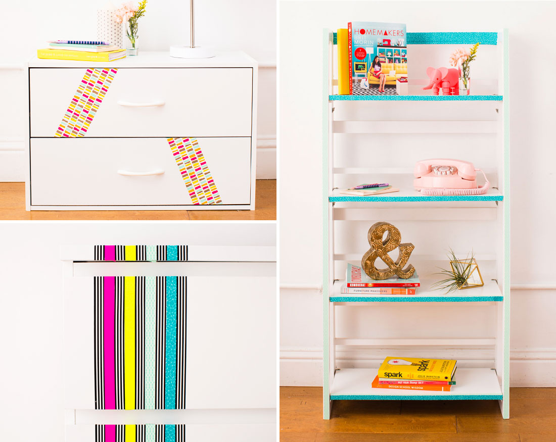 11 Ways to Transform Your Home Using Washi Tape