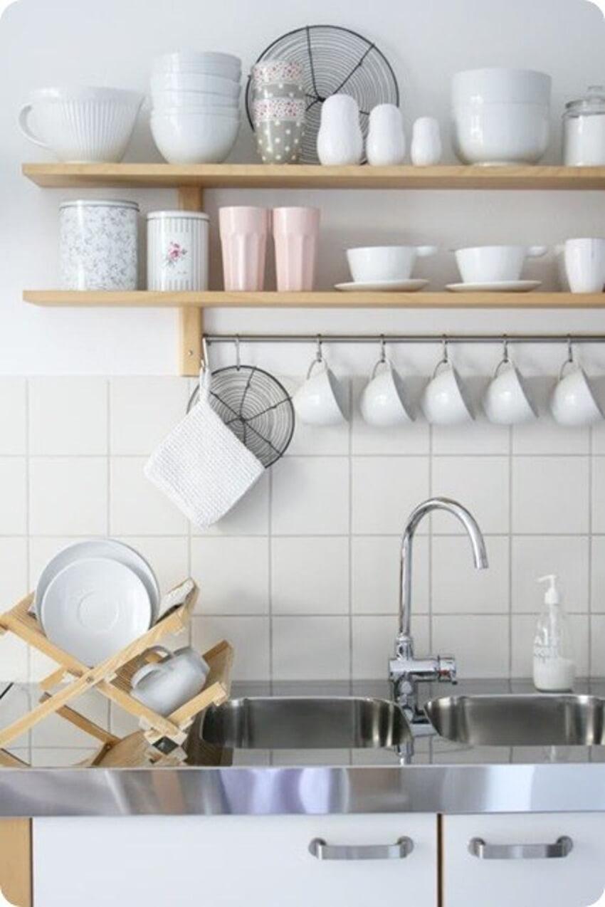 A clean sink begets a quiet mind!