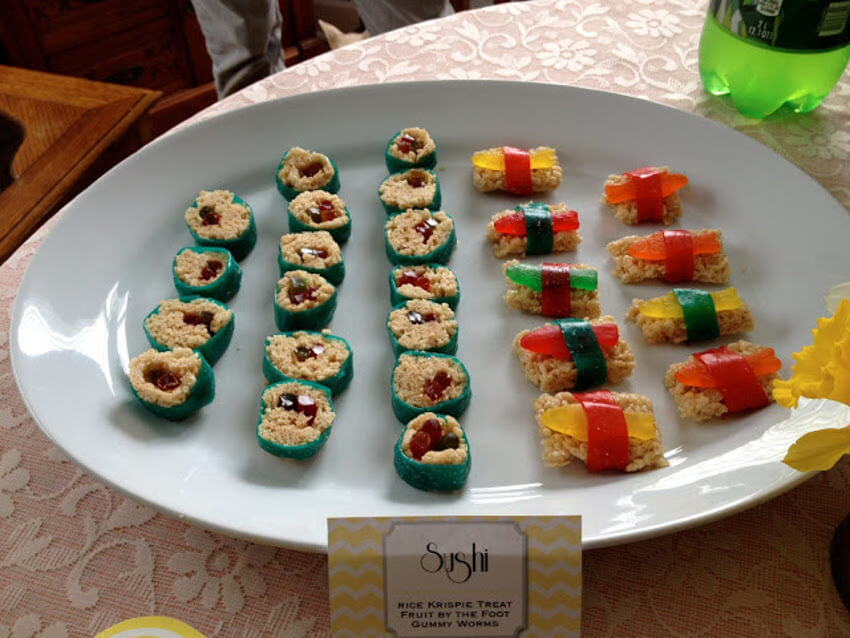 A different type of sushi.