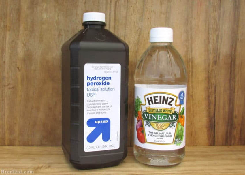 Hydrogen Peroxide and Vinegar