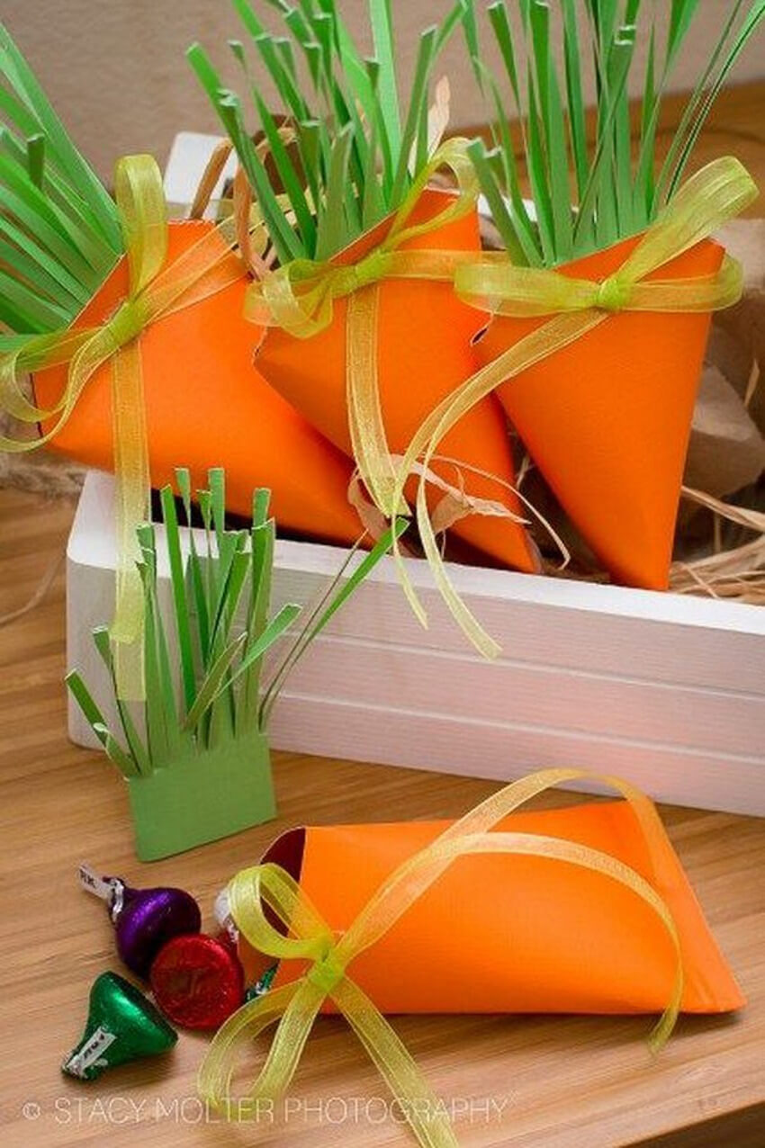 These carrot boxes are a classic DIY gift and very fun to make!