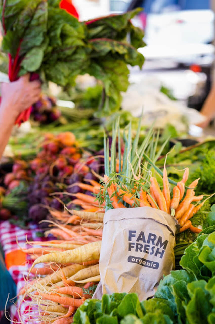 Locally grown veggies are a great way to support your local farmers.