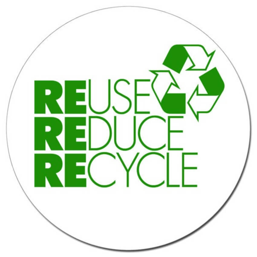 The 3 R's of waste management will help you lead a more eco-friendly life.