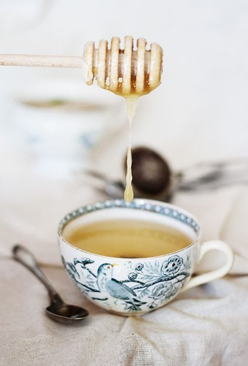 Adding honey to your tea us a doubled chance of falling asleep faster.