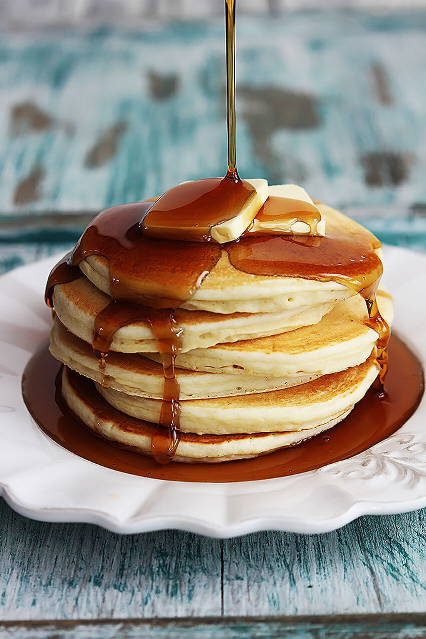 Pancakes are crucial for a good breakfast and brunch!