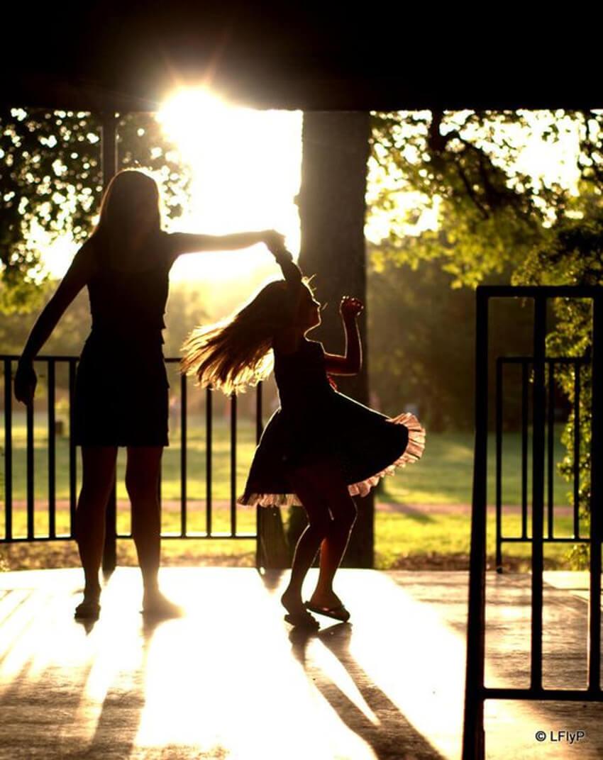 Dancing time.