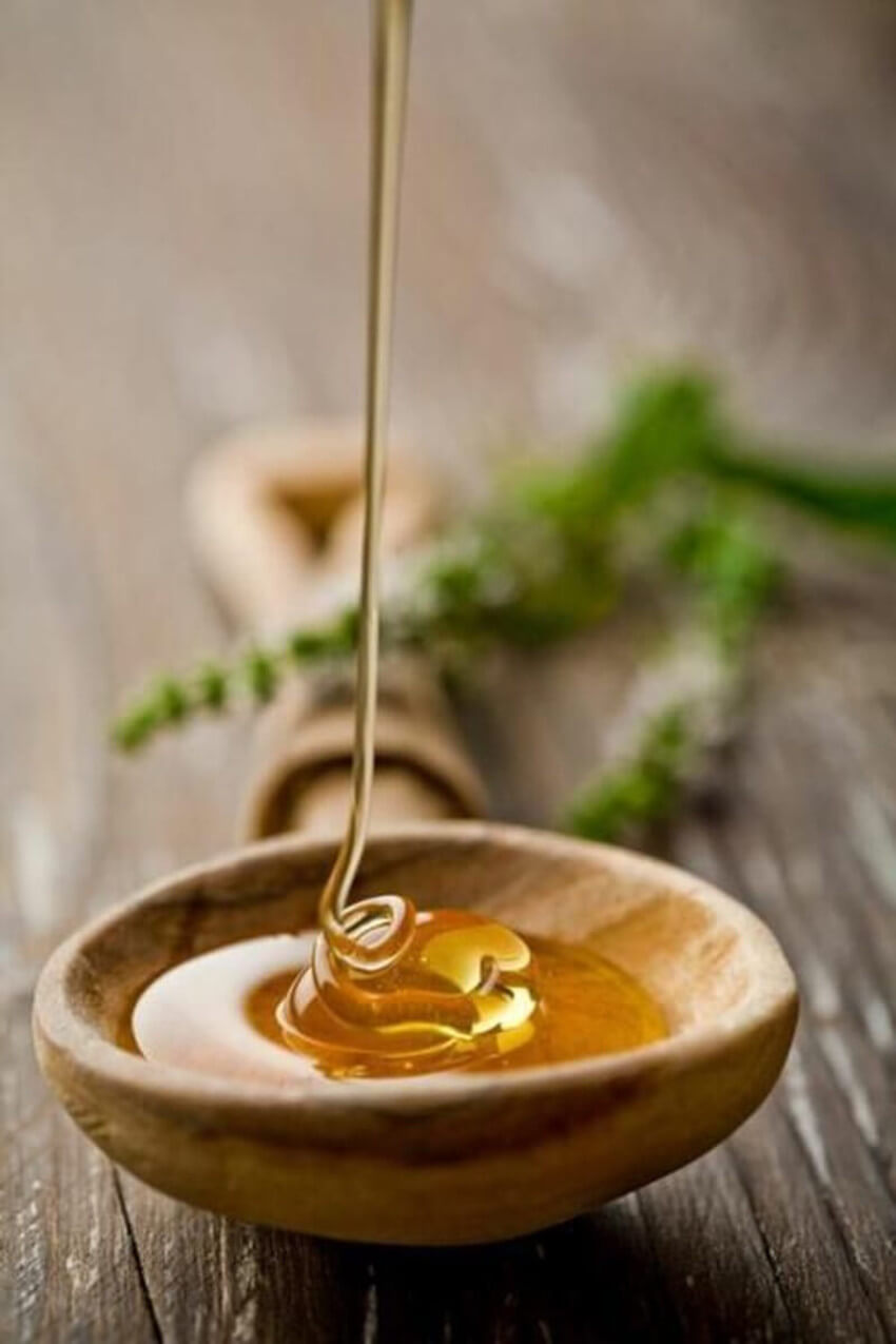 Honey is probably the healthiest sweetener out there.