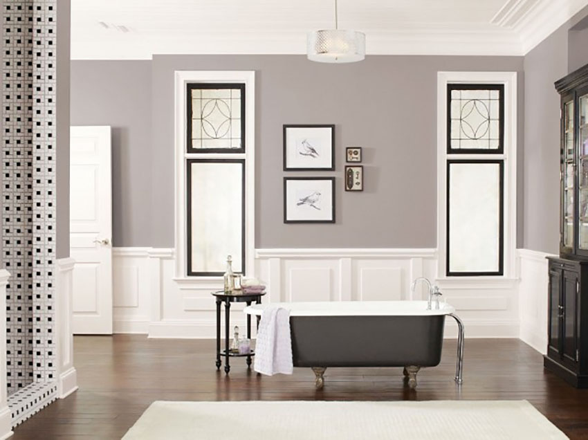 Sherwin-Williams announced Poised Taupe as their Pant Color of 2017, and it's no surprise why!