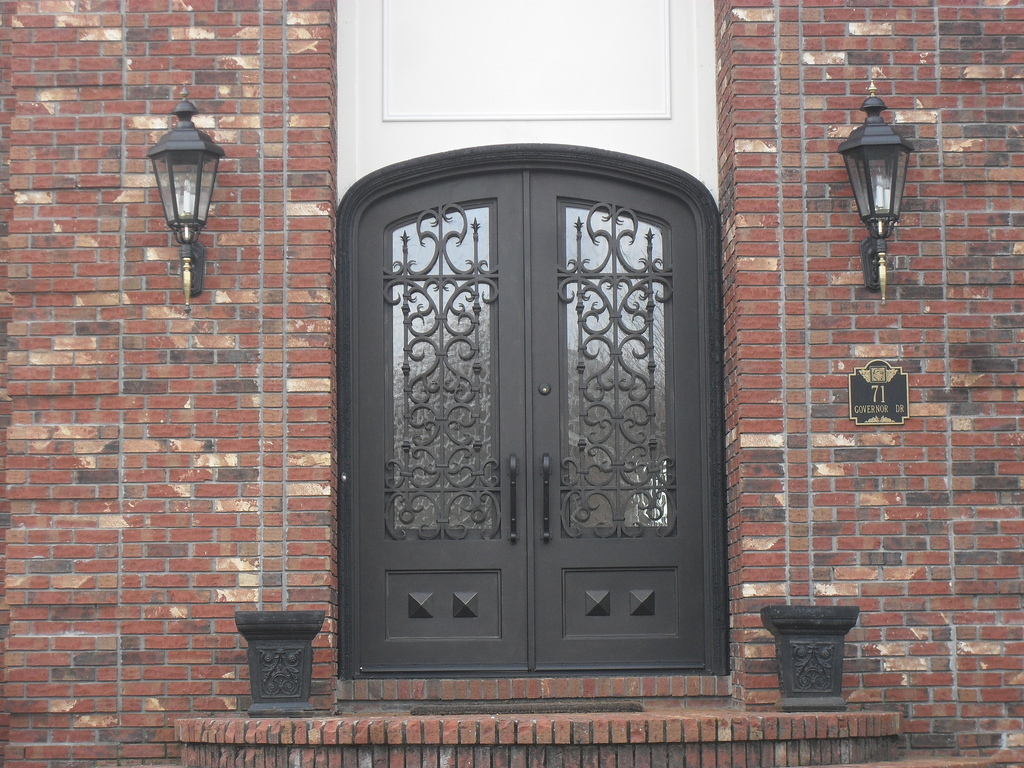 Steel doors provide security and increase property value.