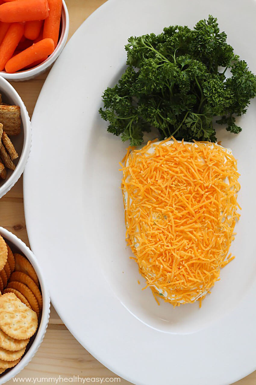 This carrot cheese ball is the perfect meal to celebrate the holiday with your family.