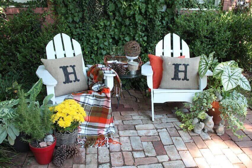 Exterior porches, patios, and decks can also benefit