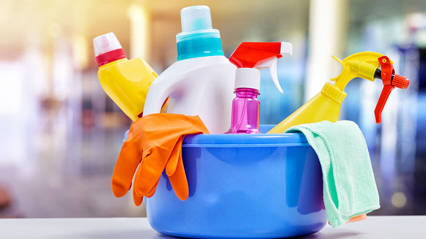 Choose non-toxic cleaning products to minimize pollution.
