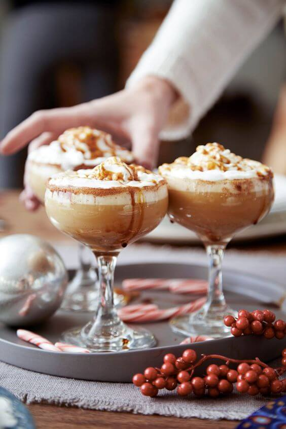 As a bonus item on this list, try this scrumptious gingerbread eggnog cocktail!